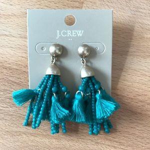 J crew tassel earrings